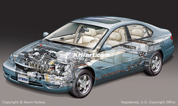 Internal Diagram Of Amp Electric Car Diagram Shows How Electric System