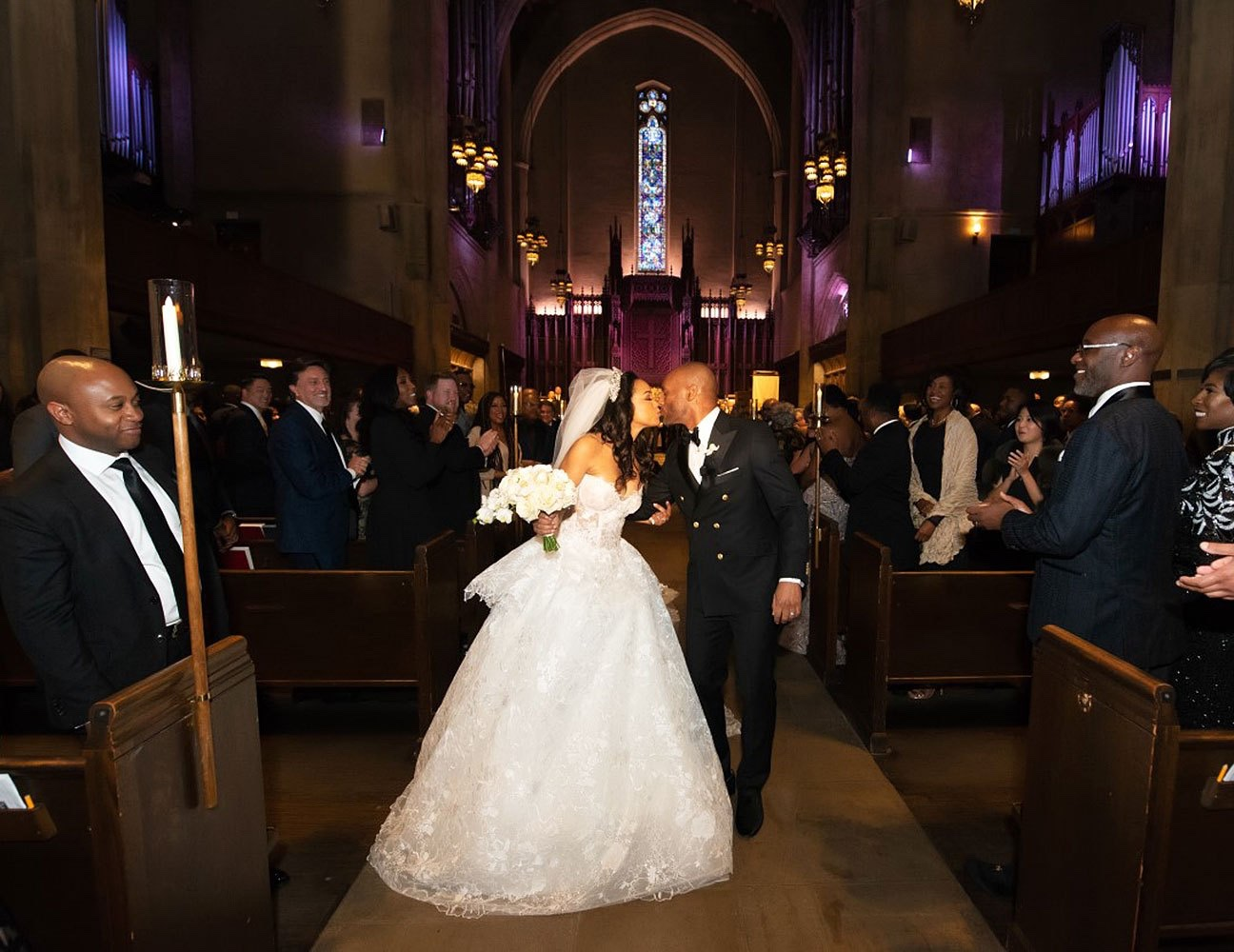 Congratulations: Kenny Lattimore and Judge Faith Jenkins Is Married Now #ForYou