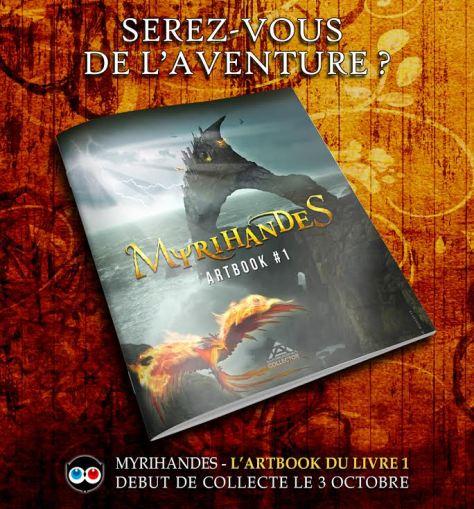 Myrihandes - Artbook du Livre 1