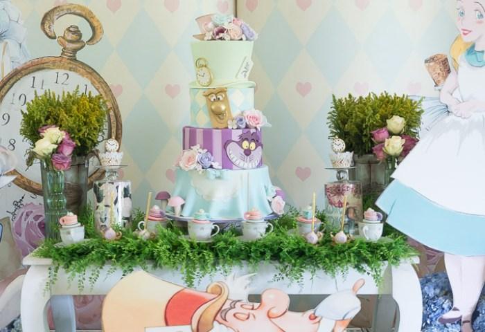 Audreys Alice In Wonderland Birthday Khim Cruz Wedding And