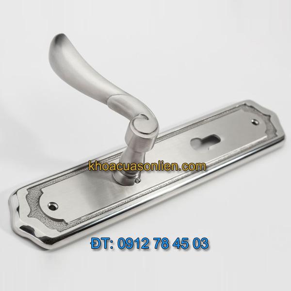 Báo giá khoá cửa chính tay gạt inox TD SDH-052052