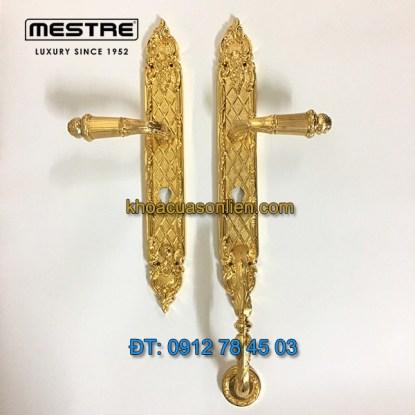 nơi bán Khóa cửa đại sảnh mạ vàng 24K 0J1606.85Y.01 nhập khẩu của Mestre Tây Ban Nha tại Hà Nội