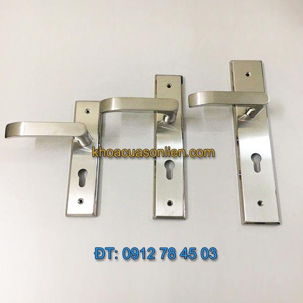 Báo giá nơi bán mẫu Khóa cửa tay gạt inox 304 (không gỉ) giá rẻ kiểu dáng hiện đại tại Hà Nội