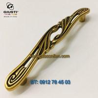 nơi bán Mẫu Tay nắm tủ tân cổ điển đẹp WMN830.128.00A8 128mm Giusti - Italy chính hãng tại Hà Nội