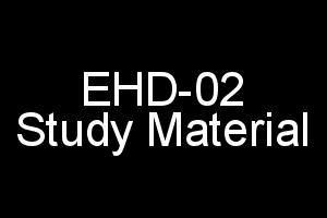 EHD-02 Study Material Download In PDF Format Hindi Kavya IGNOU BA BDP