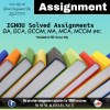 IGNOU Solved Assignment 2018-2019 PDF Solution