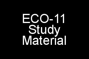ECO-11 Study Material For IGNOU BCOM In PDF Elements of Income-Tax