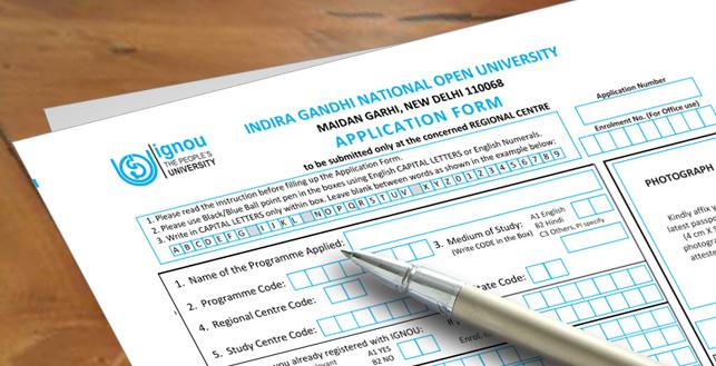 IGNOU Online Admission Form