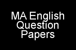 IGNOU MA English (MEG) Question Papers of Previous Terms
