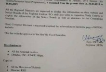 IGNOU Assignment Submission Last Date Extended 15 May