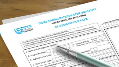IGNOU Re-Registration Form