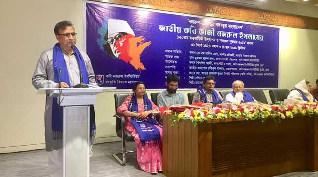 'নজরুল কর্ণার' পুনঃস্থাপন করা হবে: কে এম খালিদ