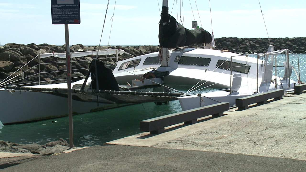 catamaran waianae boat harbor_79145
