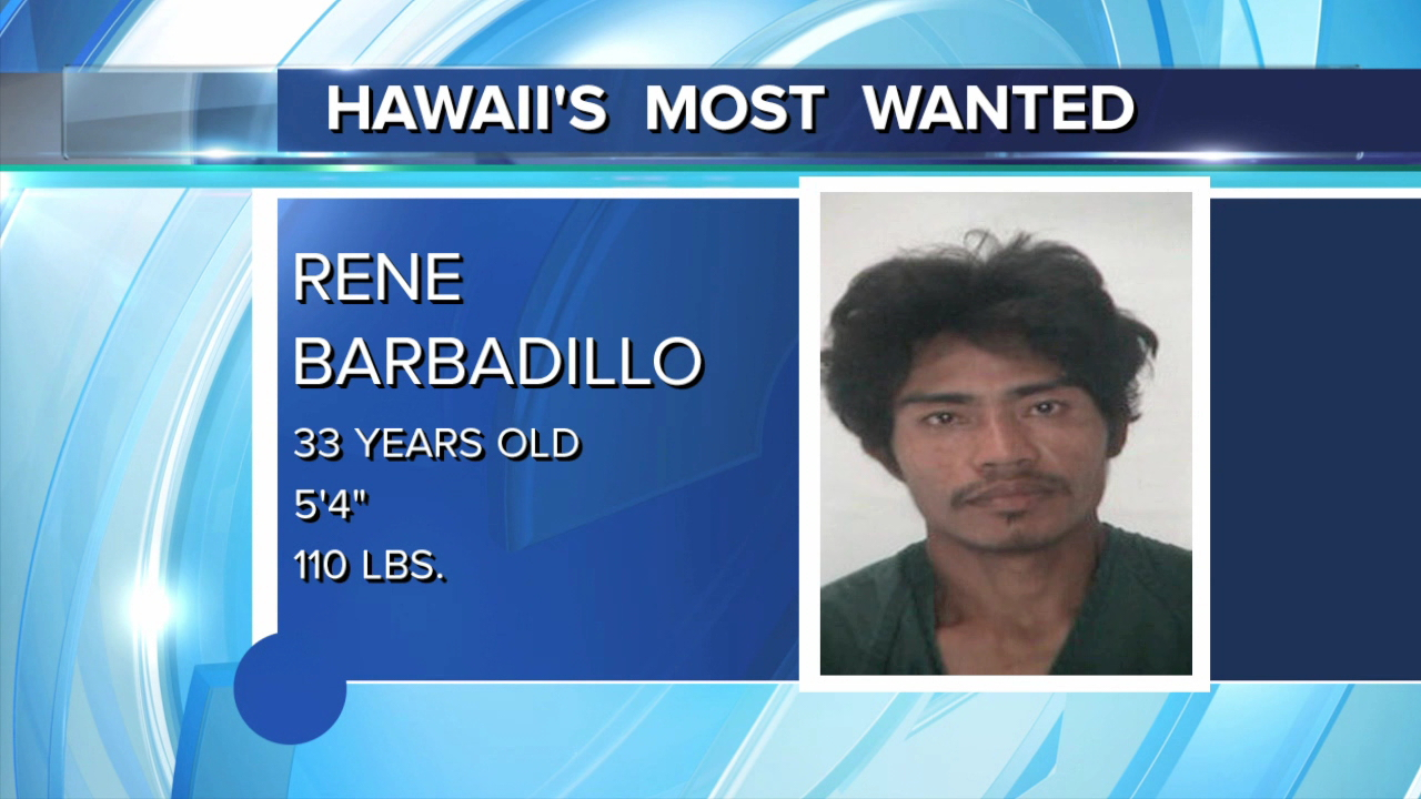 Hawaii's Most Wanted Rene Barbadillo_81112