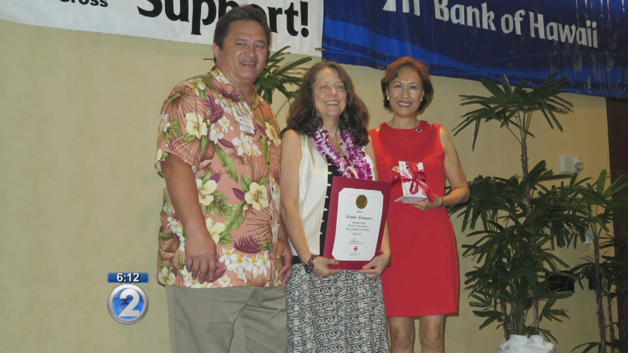 Hawaii Red Cross honors its Heroes of the Year