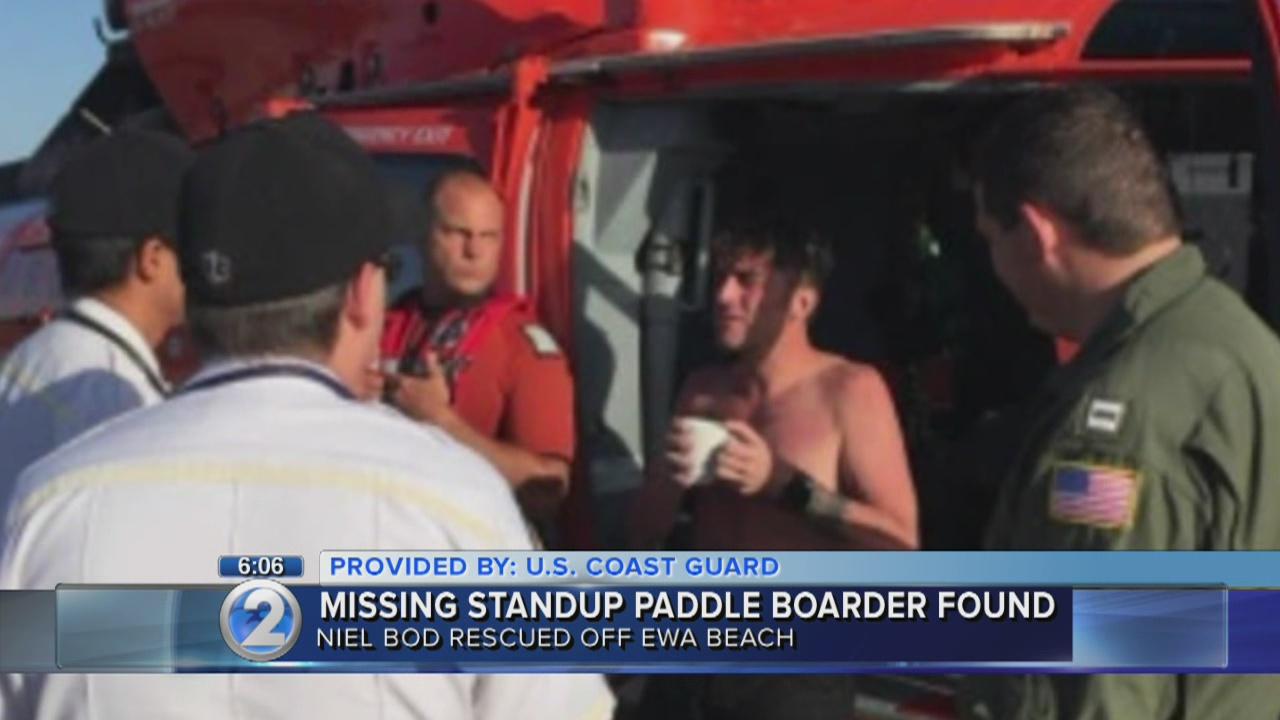 Missing Seattle paddle boarder found safe off Ewa Beach
