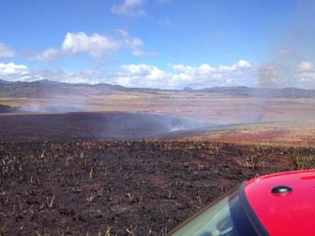 kauai brush fire_101809
