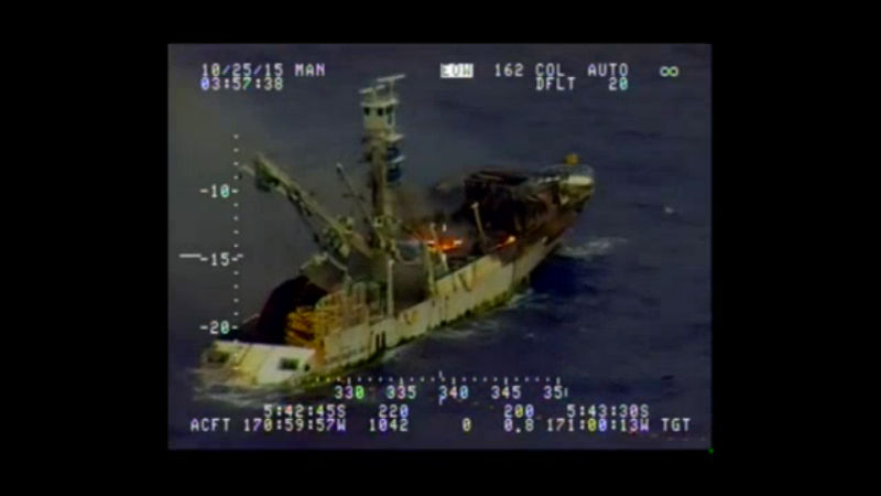 Coast Guard assists in rescue of 36 fishermen in Pacific Ocean