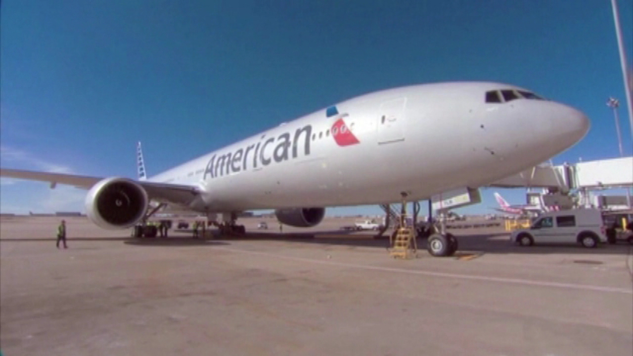 american airlines plane_96209