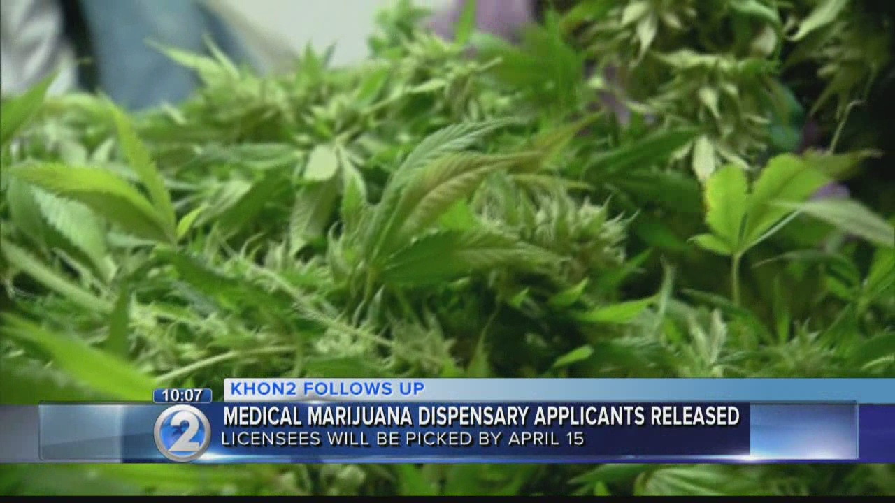 State releases list of applicants for medical marijuana dispensary licenses