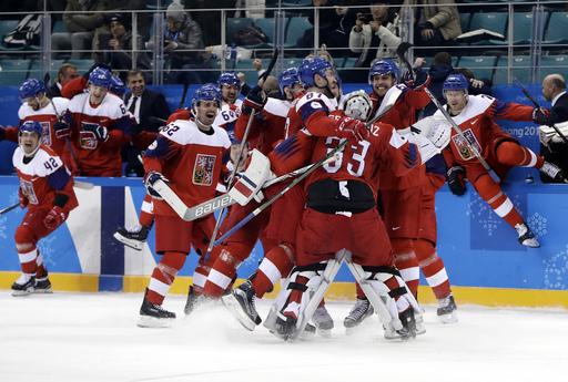 APTOPIX Pyeongchang Olympics Ice Hockey Men_242909