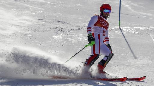 Pyeongchang Olympics Alpine Skiing_243021
