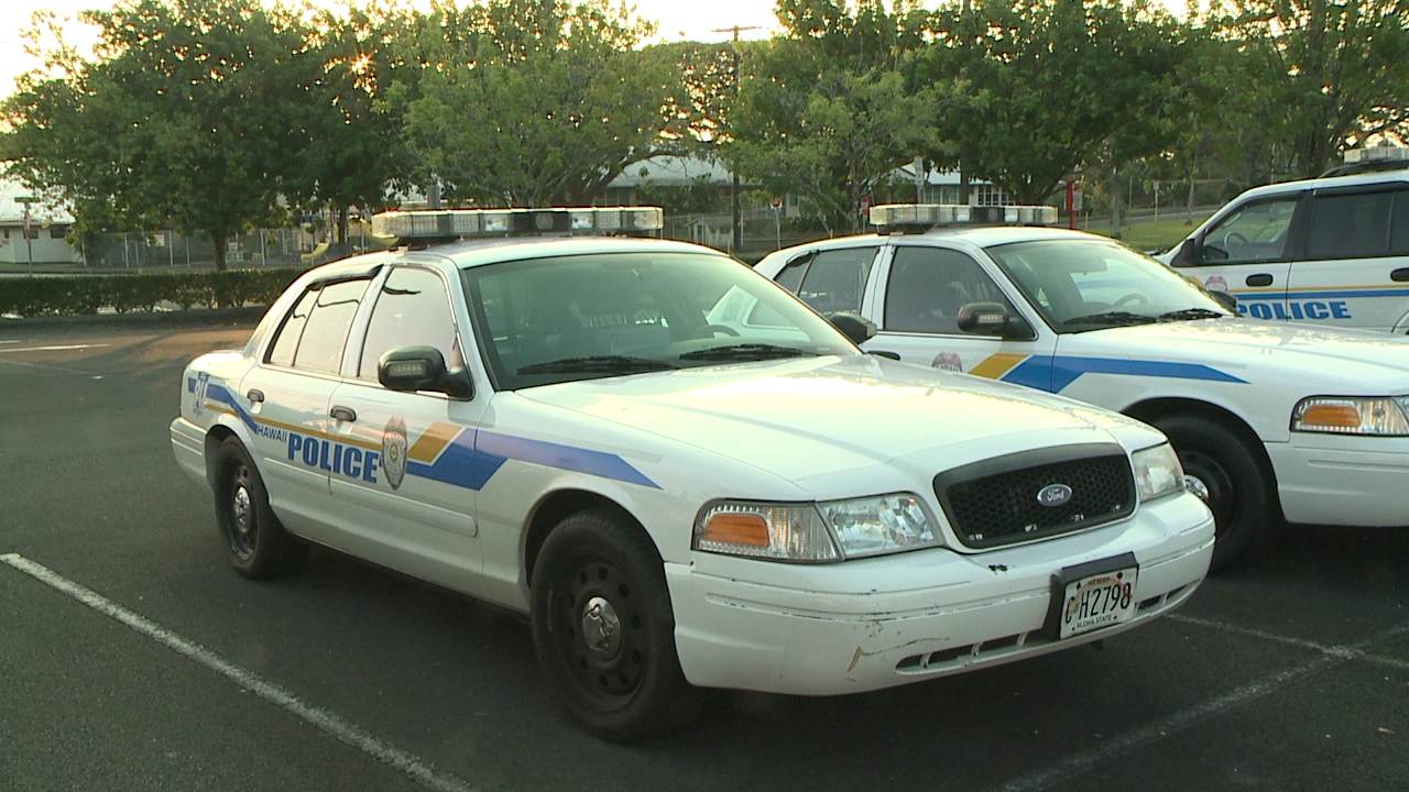 Hawaii County Police Department Big Island police cars