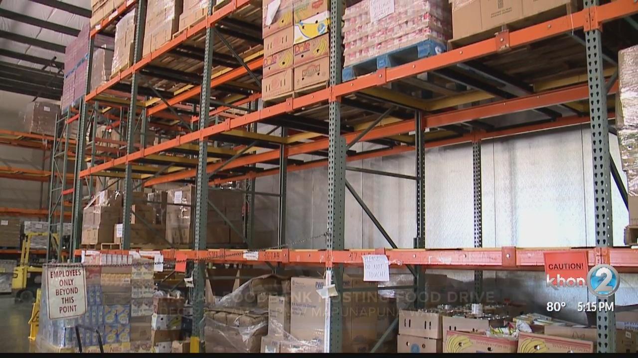 Hawaii Foodbank seeks donations for holiday food drive