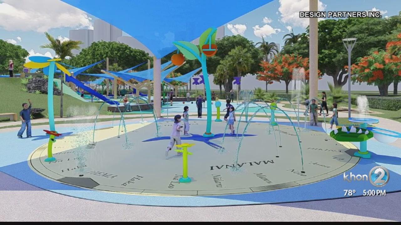 'World-class' playground at Ala Moana Park