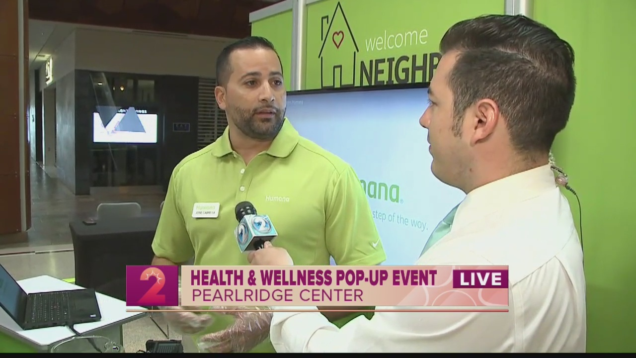 Take 2:Health & Wellness Pop-Up Event at Pearlridge Center