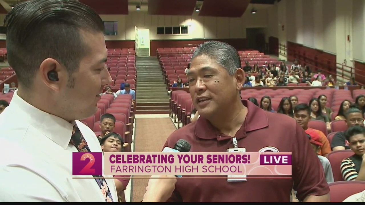 Class of 2019:49 Farrington High School Seniors will swear in to the Military after Graduation