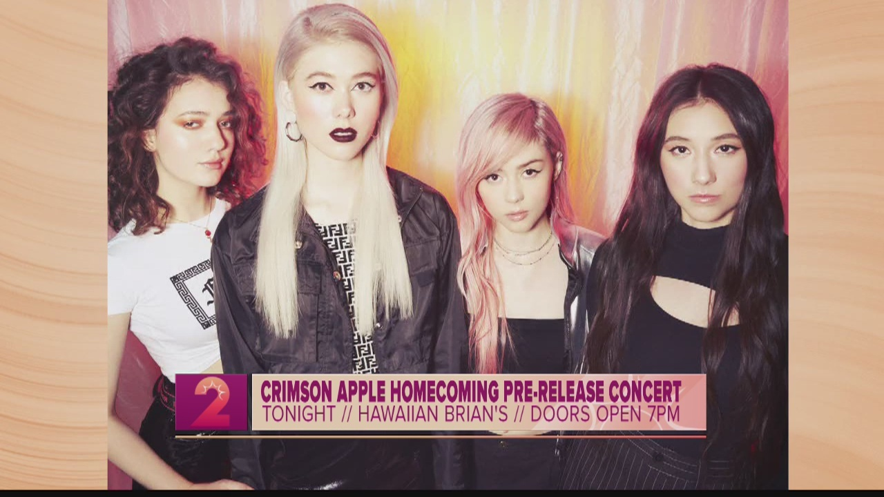 Take2:Pop-Alternative Band Crimson Apple Return for Homecoming Show