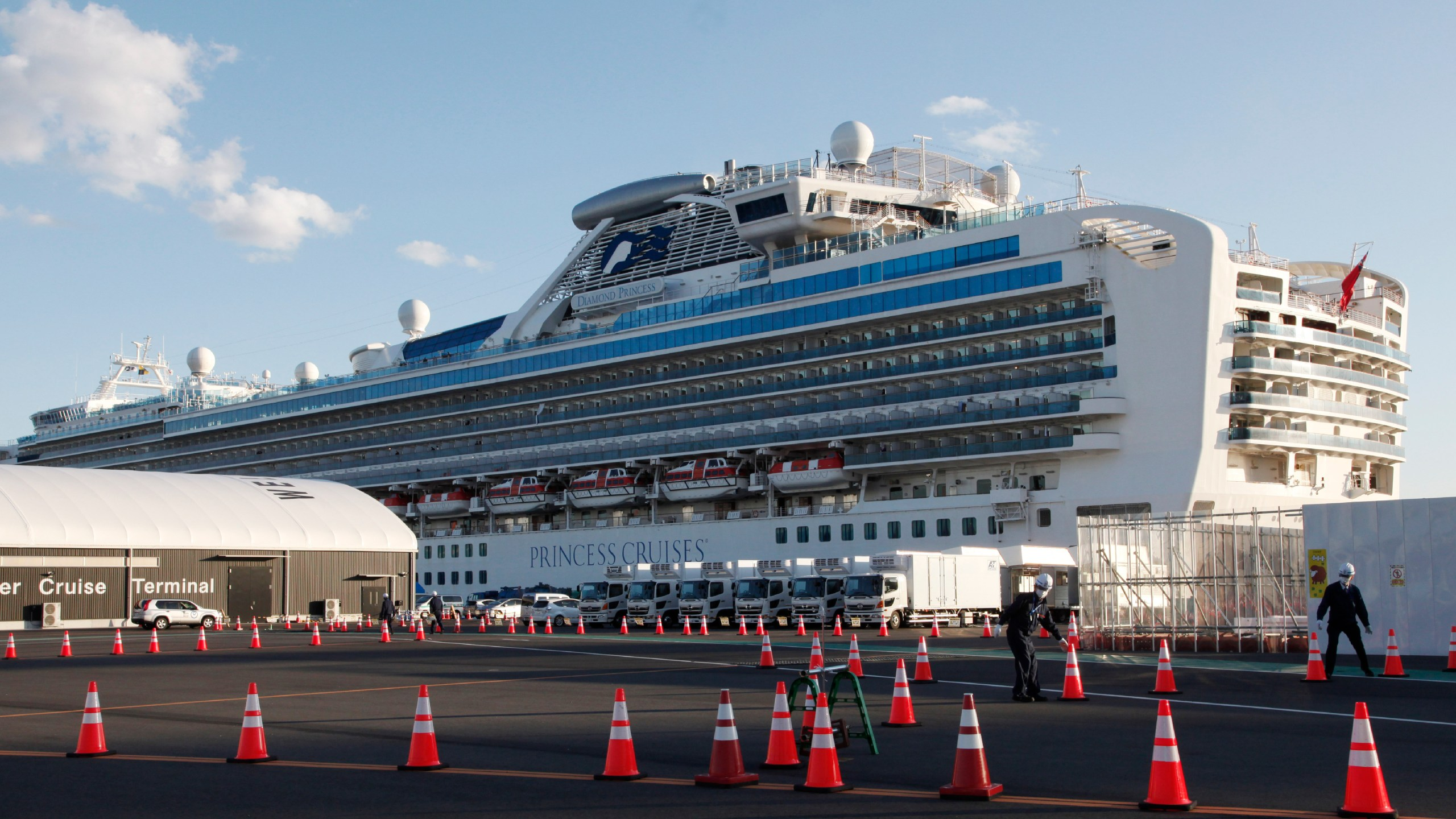 Two elderly Diamond Princess cruise ship passengers infected with ...