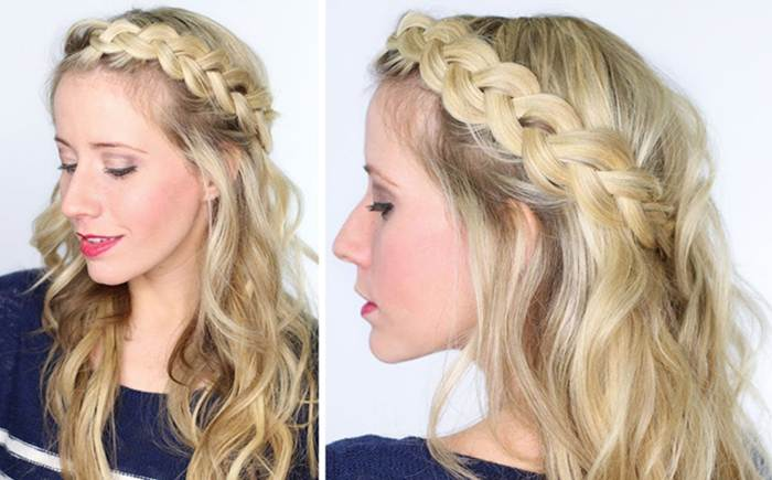 Beautiful Girl Hair Style For Party Khoobsurat World
