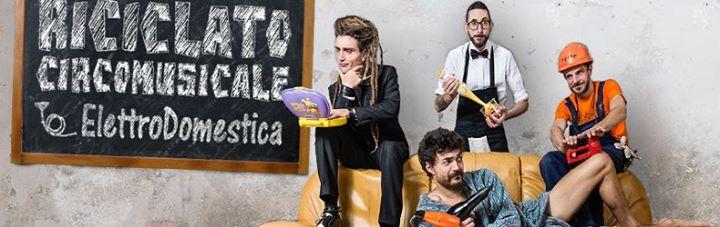 Riciclato Circo Musicale programma eventi So Far So Good 2015 Abano Terme Padova