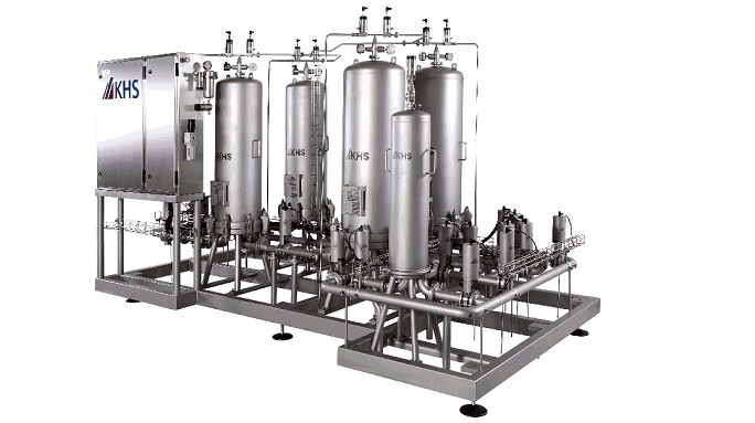 multifunctional filter system for beverages and gases