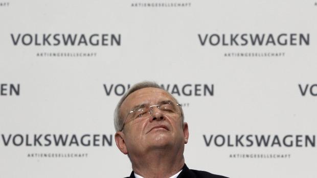 Ông Martin Winterkorn, Volkswagen CEO, đã quyết định từ chức. Photo: Michael Sohn