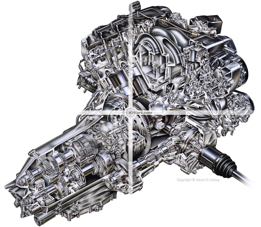 medium resolution of acura rl engine cutaway