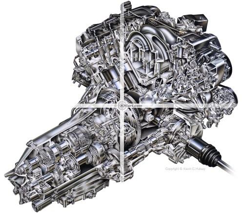 small resolution of acura rl engine cutaway