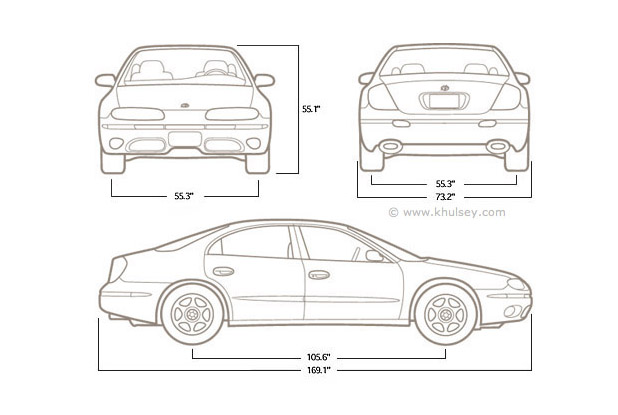 Technical line-art and line drawings.