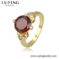 Gold Finger Engagement women Ring for Girls  KHYBER SALES
