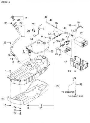 Kia Spectra Parts Diagram Kia Wiring Diagram Images