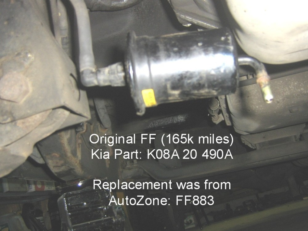 medium resolution of 2002 kia sportage fuel filter location
