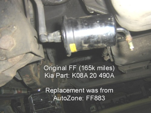 small resolution of 2002 kia sportage fuel filter location