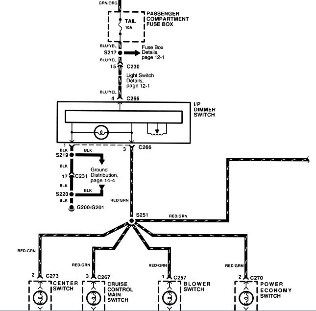 wiring diagram for headlight dimmer switch avcr kia forum click image larger version name 99sportagedimmer jpg views 31132 size 62 6