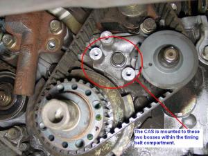 Optima 24L timing beltcrank sensor  Kia Forum