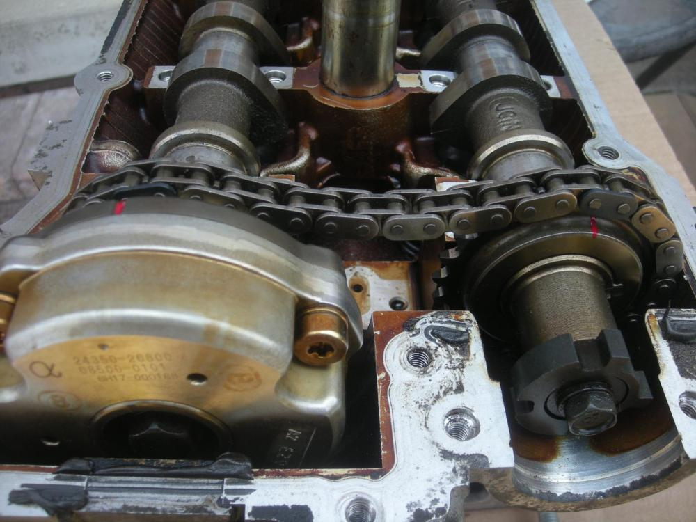 medium resolution of camshaft chain position kia forum