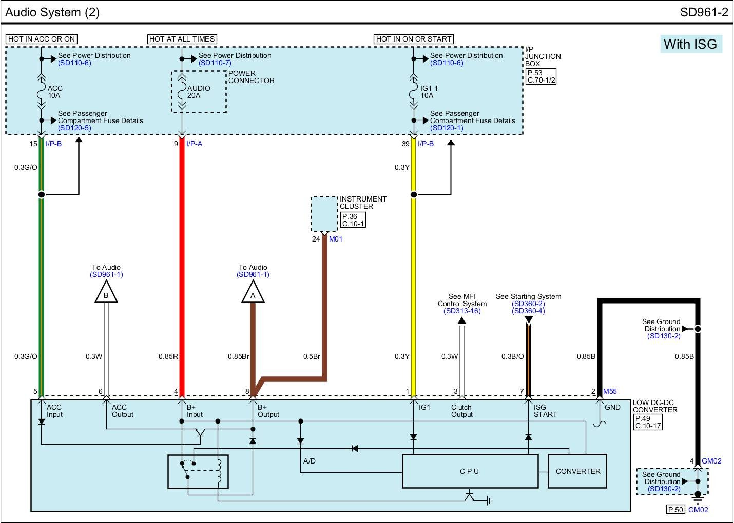 kia picanto 2009 radio wiring diagram 1998 chevy blazer for 2013 rio sx with navigation page