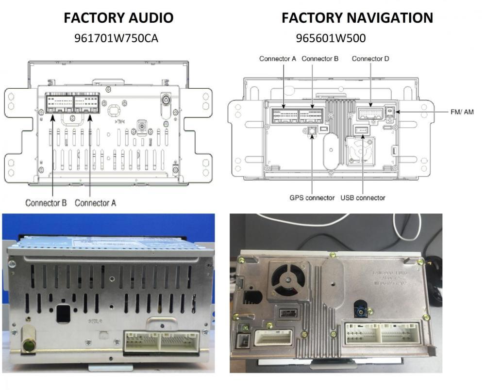 medium resolution of kia rio navigation system installation compare jpg