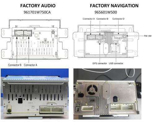 small resolution of kia rio navigation system installation compare jpg